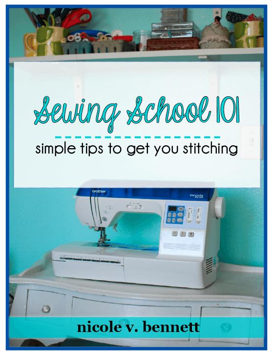 Sewing school 101