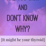 Are you sick and don't know why?