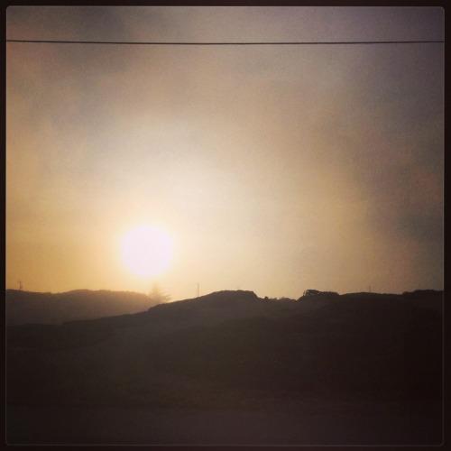 foggy sunshine