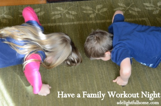 family workout night