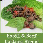 Basil & Beef Lettuce Wraps