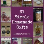 Announcing 31 Days of Simple Homemade Gifts