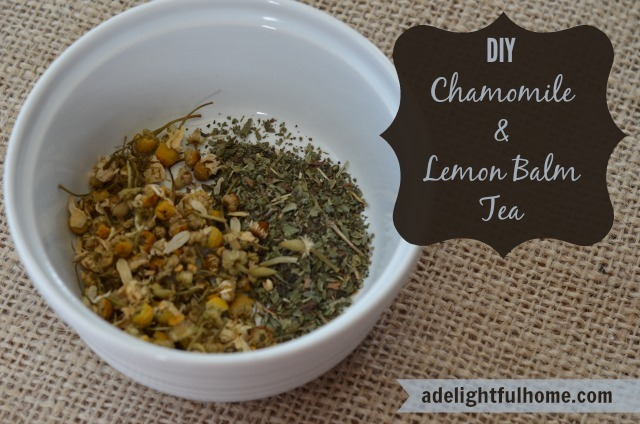 Chamomile Lemon Balm Tea