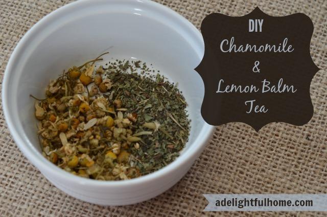 Chamomile Lemon Balm Tea