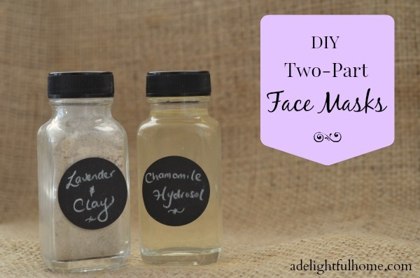 DIY 2-Part Face Masks
