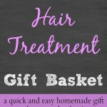 DIY Hair Treatment Gift Basket