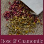Rose and Chamomile Bath Bags