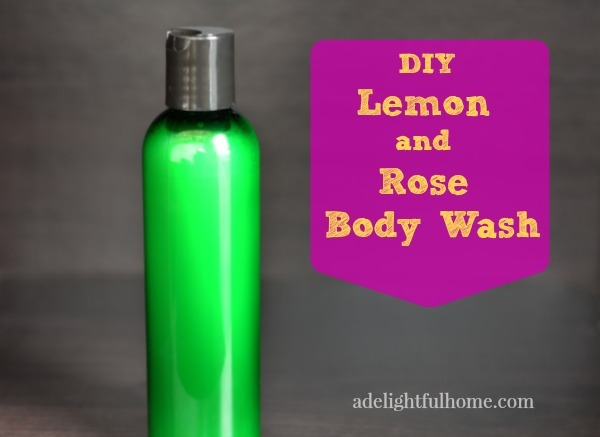 Lemon and Rose Body Wash
