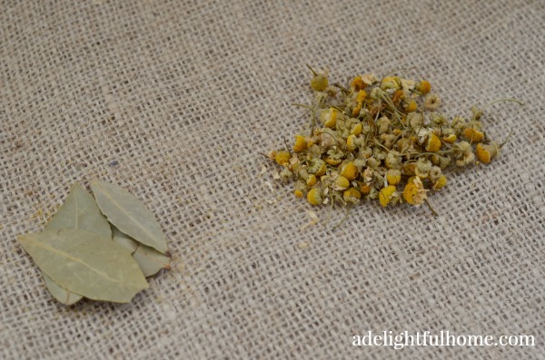 bay and chamomile