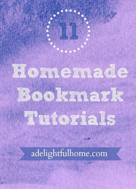 11 Homemade Bookmark Tutorials