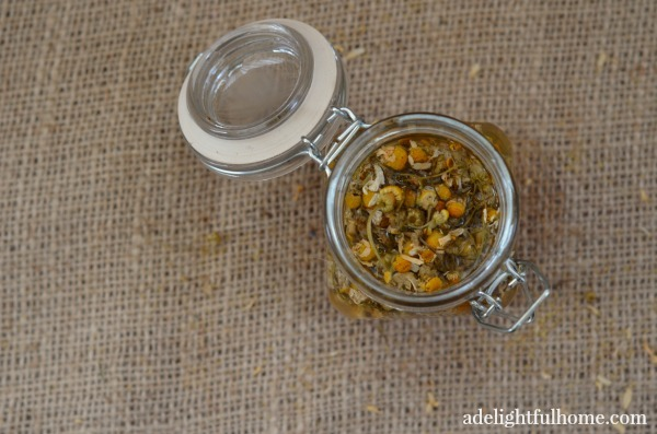 chamomile bath vinegar