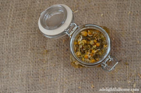 chamomile bath vinegar