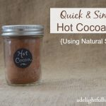 Quick and Simple Hot Cocoa Mix