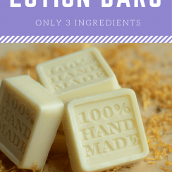 Simple Homemade Lotion Bars
