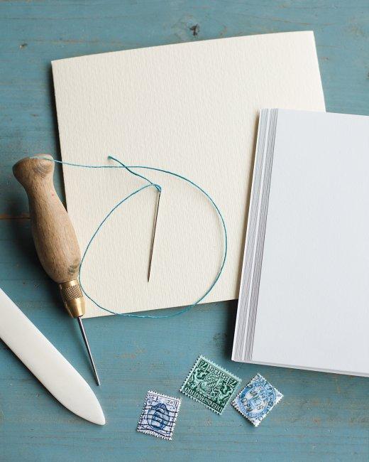 hand sewn journals - martha stewart