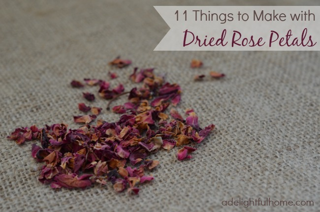 Things to Make with Dried Roses
