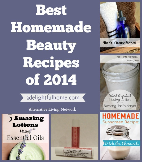 Best Homemade Beauty Recipes | ADelightfulHome.com