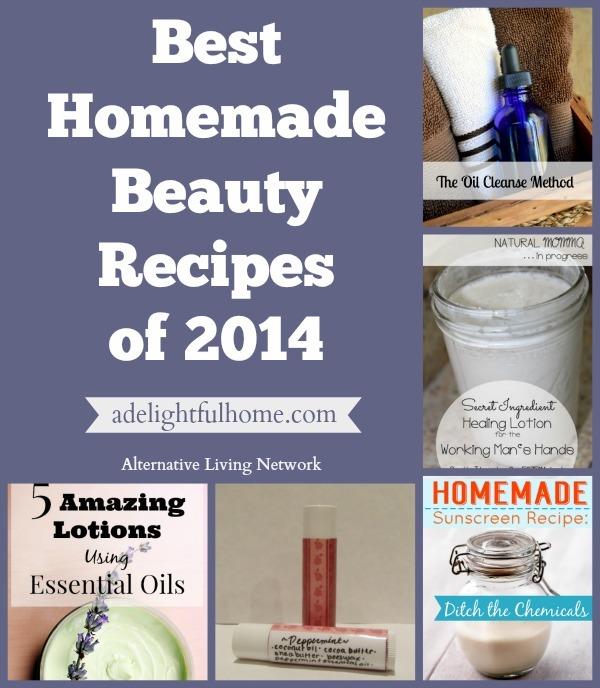 Best Homemade Beauty Recipes | ADelightfulHome.com