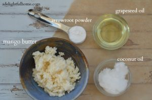 body butter ingredients