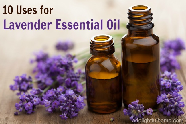 10 uses for lavender essential oil