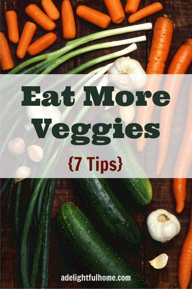 7 Ways to Eat More Veggies (Plus Veggie Challenge Update!)