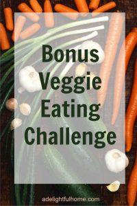 bonus veggie eating challenge