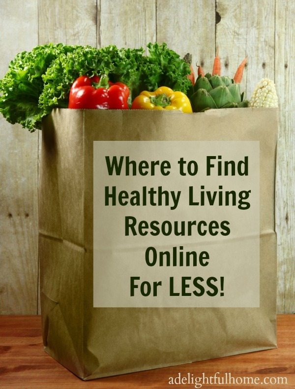 Best places to find healthy living resources online for less