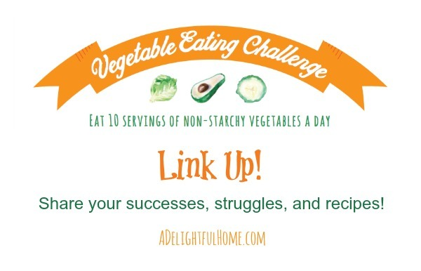 vegetable challenge link up