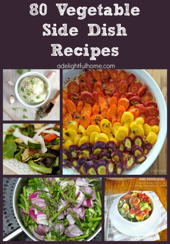 vegetable side dish reicpes
