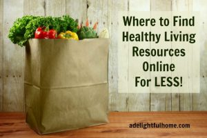 Online Shopping for Healthy Living Resources