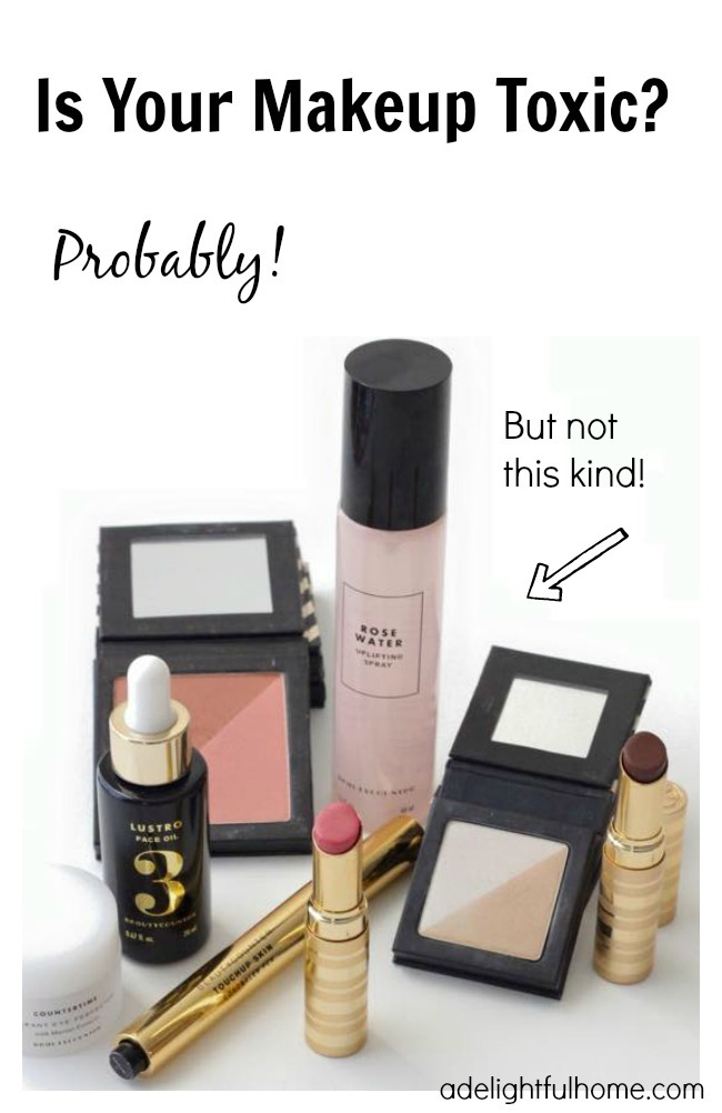 Is Your Makeup Toxic? | aDelightfulHome.com