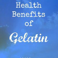 The Health Benefits of Gelatin | aDelightfulHome.com