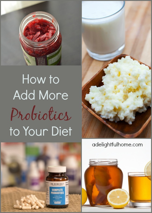 how to add more probiotics to your diet