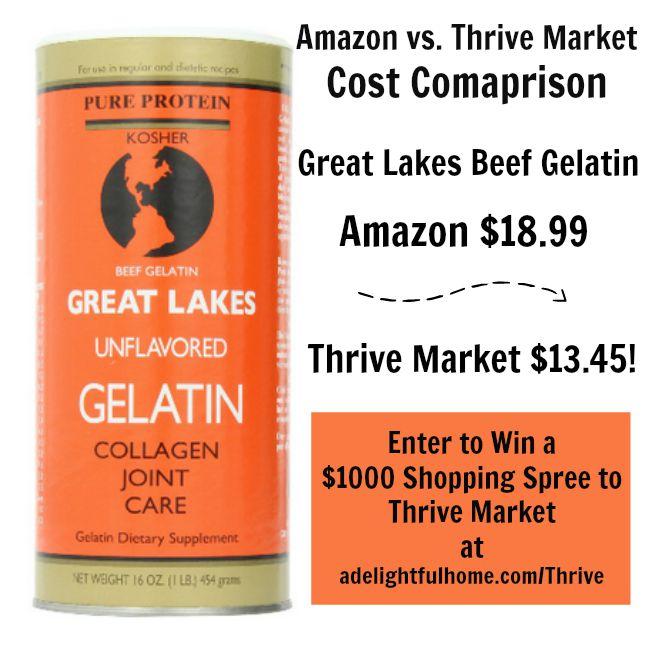 thrive market beef gelatin