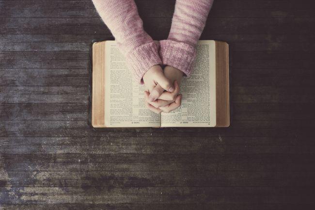 bible reading and praying