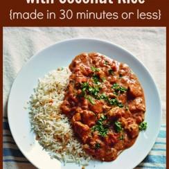 Chicken Tikka Masala | A DelightfulHome.com