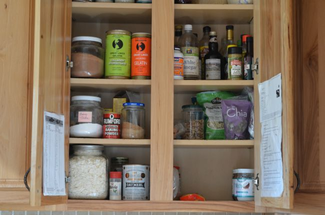 Quick Pantry Makeover (while making pancakes!) | aDelightfulHome.com