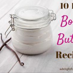 10 DIY Body Butter Recipes | ADelightfulHome.com