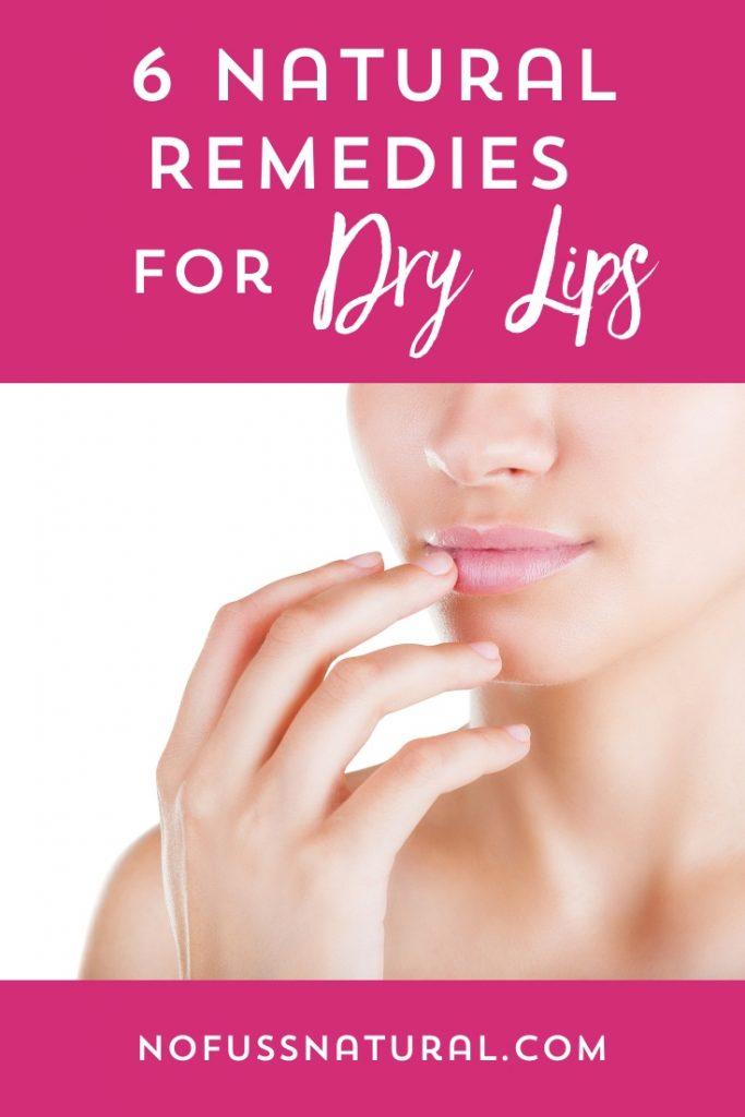 moisturized lips