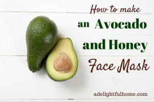 How to Make an Avocado and Honey Facial Mask