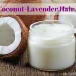 DIY Coconut-Lavender Hair Mask