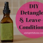 Homemade Detangler or Leave-in Conditioner