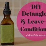 Homemade Detangler or Leave-in Conditioner