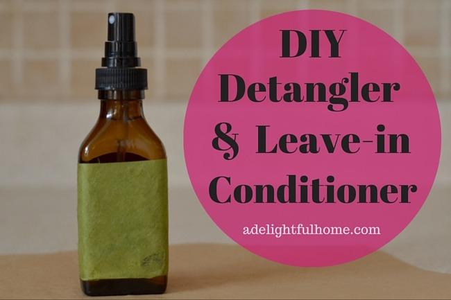 Homemade Detangler or Leave-in