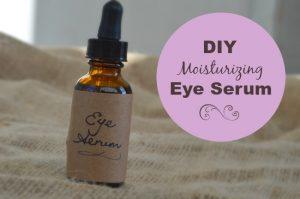 DIY eye serum
