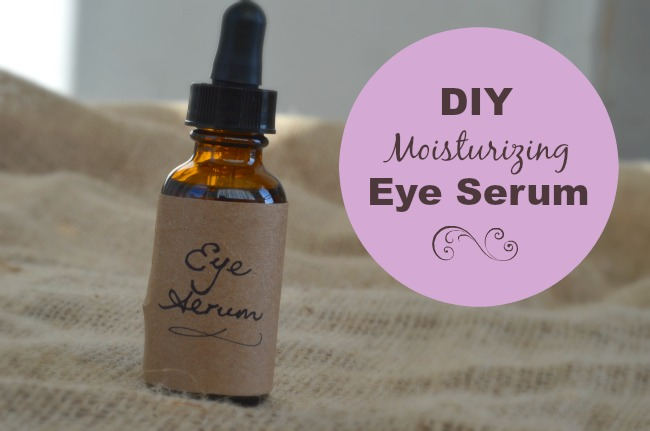 Prevent Wrinkles with this DIY Moisturizing Eye Serum | aDelightfulHome.com