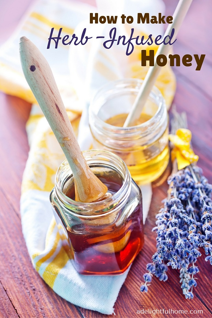 How to Make Herb-Infused Honey (1)