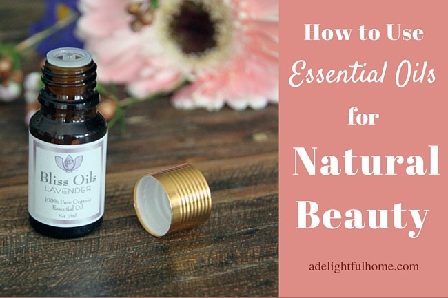 Essential Oils for Natural Beauty (Giveaway) | aDelightfulHome.com