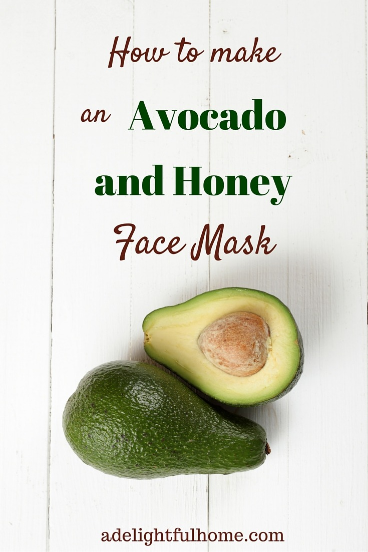 How to make an avocado and honey face mask