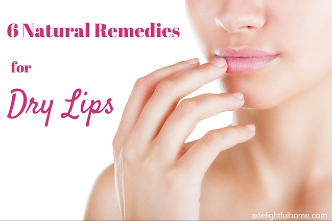 DIY Natural Remedies for Dry Liips | ADelightfulHome.com